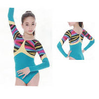 So Danca Long Sleeve Gymnastic Leotard