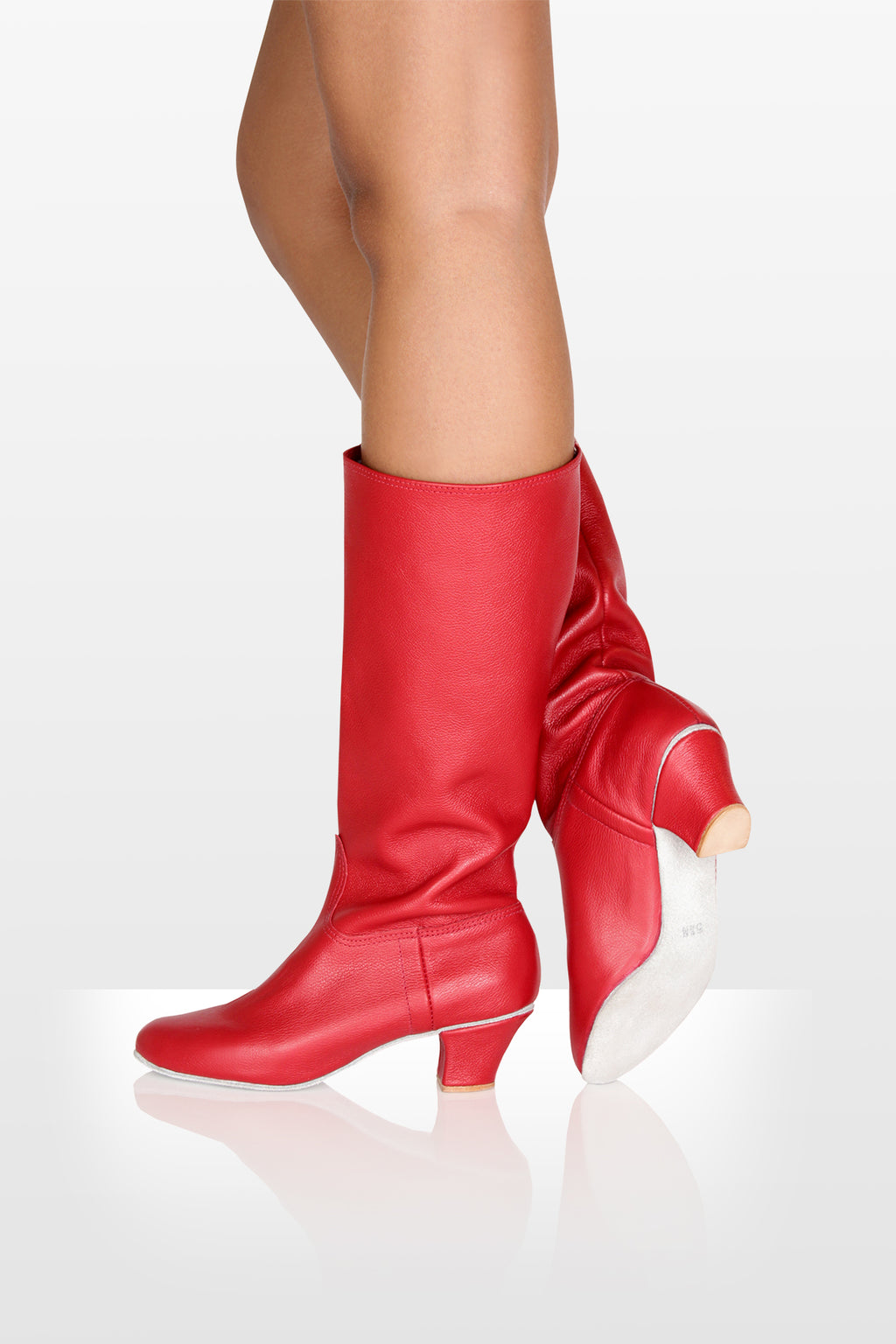 So Danca Red Ukrainian Boot