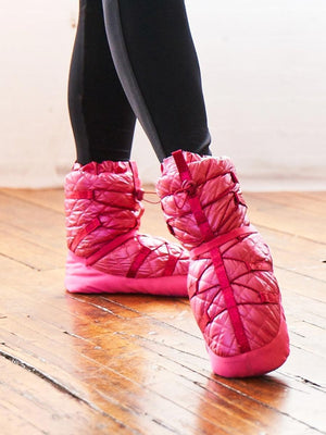 Capezio Quilted Technique Warm Up Bootie