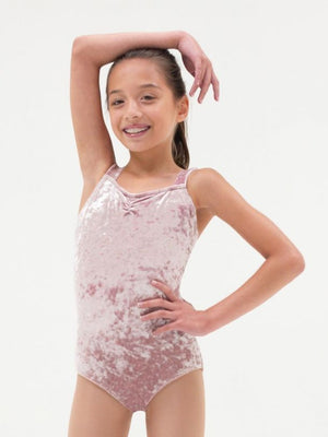 Capezio Crush Velvet Tank Leotard