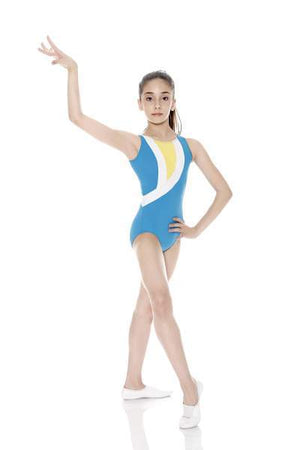 So Danca - So Danca Gymnastics Tank Leotard W/stripe Accent
