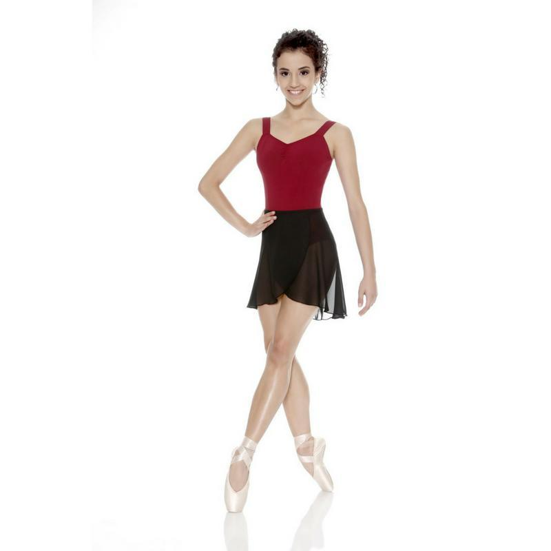 So Danca Crepe Wrap Skirt