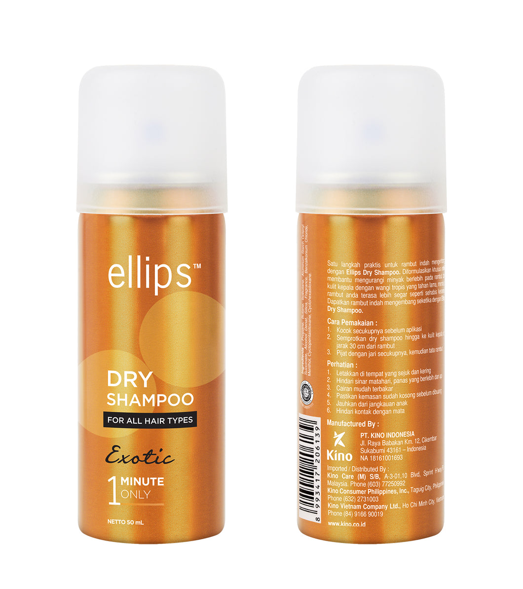 Ellips Dry Shampoo, Exotic