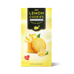 Jans Premium Cookies, Lemon, 4.5 oz, Pack of 4