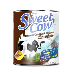 Sweet Cow Sweetened Condensed Creamer, Chocolate, 13.2 oz, Pack of 16