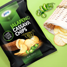 Load image into Gallery viewer, Jans Jalapeno Cassava Chips, 3 oz