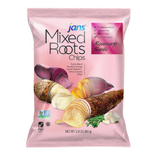 Load image into Gallery viewer, Jans Mixed Roots Chips, Rosemary Garlic, 2.8 oz, Pack of 2
