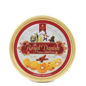 Royal Danish Butter Cookies Cinnamon, 16 Oz, Pack of 3