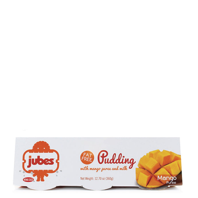 Jubes Pudding, Mango, 12.7 oz, Pack of 4
