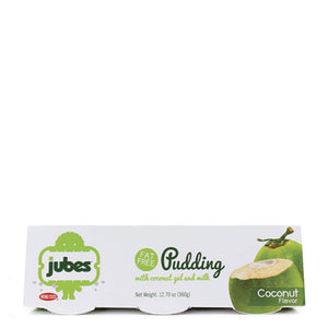 Jubes Pudding, Coconut, 12.7 oz, Pack of 4