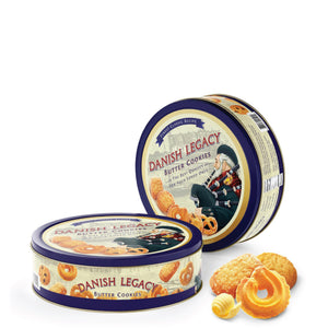 Danish Legacy Butter Cookies, 16 oz, Pack of 3