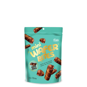 Deka Mini Wafer Bites, ChocoChoco, 7 oz, Pack of 3