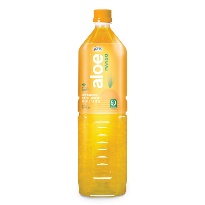 Jans Aloe Drink, Mango, 1.5L, Pack of 3
