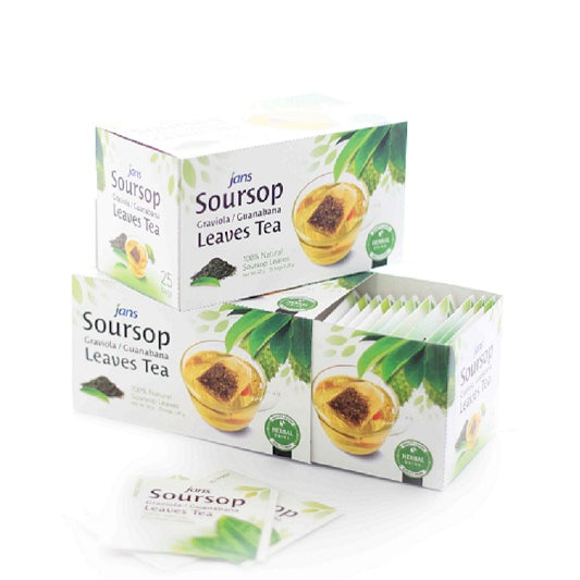 Jans Soursop Leaves Tea, 1.12 oz, Pack of 12