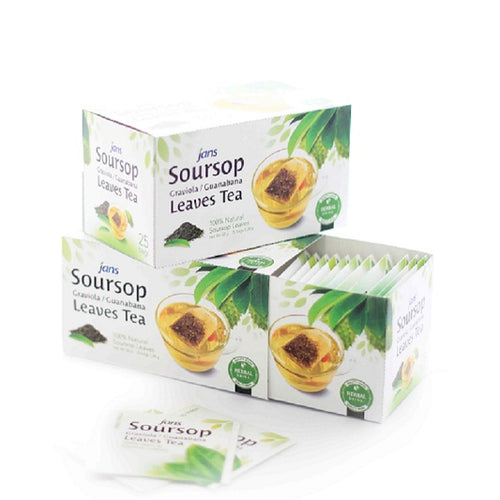 Jans Soursop Leaves Tea, 1.12 oz, Pack of 4