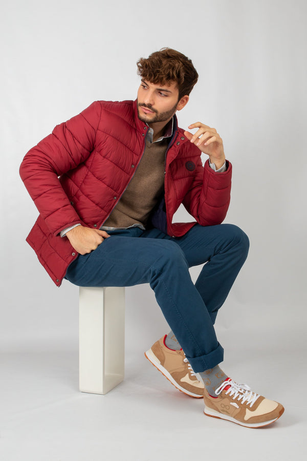 CHAQUETA ULTRALIGHT BURDEOS