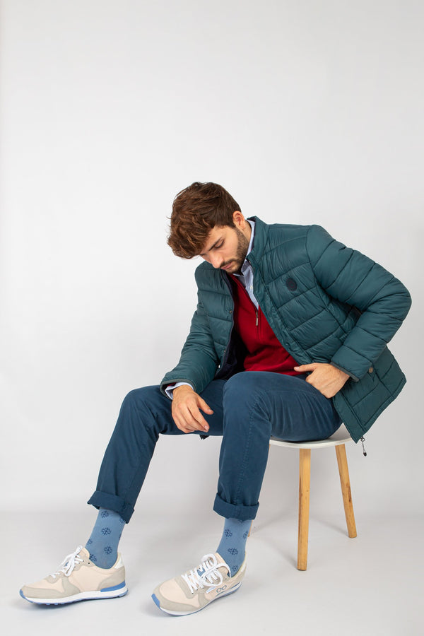 CHAQUETA ULTRALIGHT VERDE
