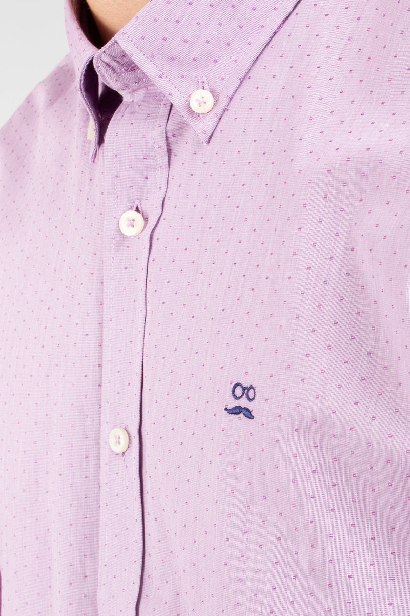 CAMISA FRENCH DOTS ROJO