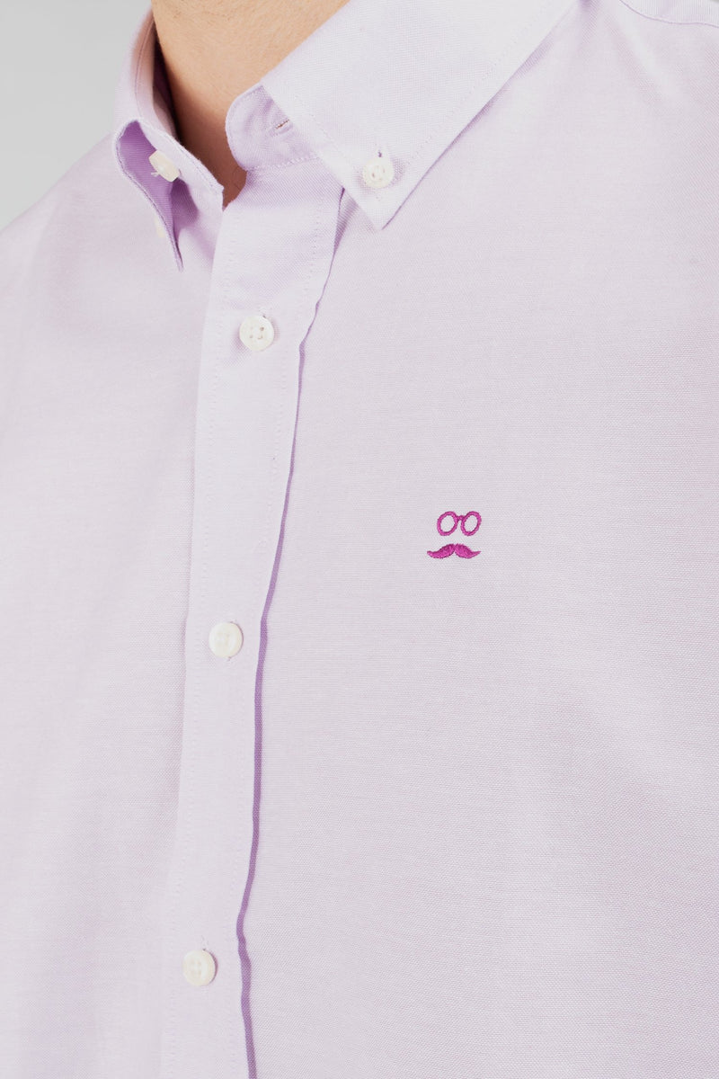 CAMISA CLASSIC OXFORD LILA