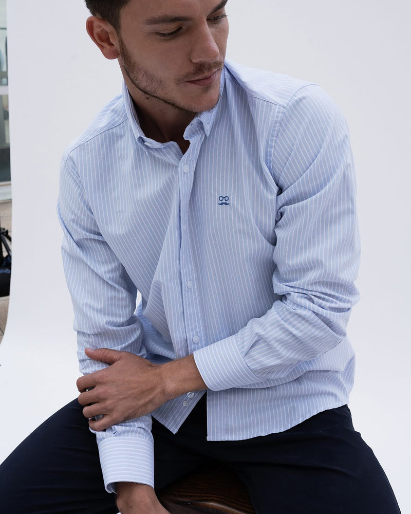 CAMISA STRIPED OXFORD