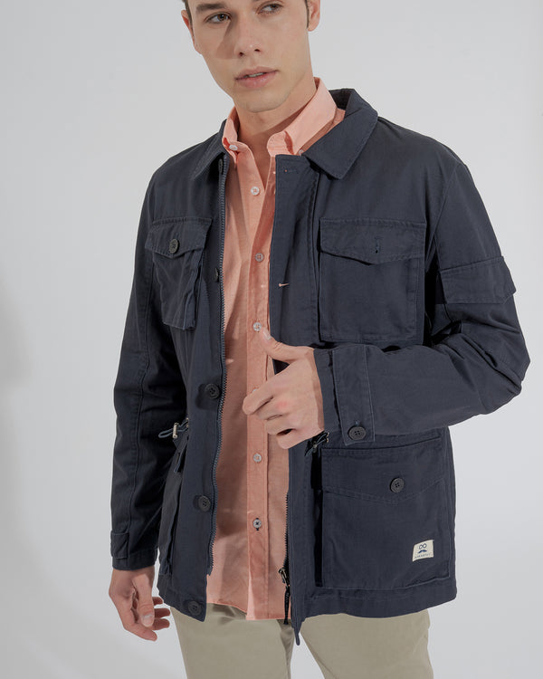 PARKA SOFT JACKET MARINO