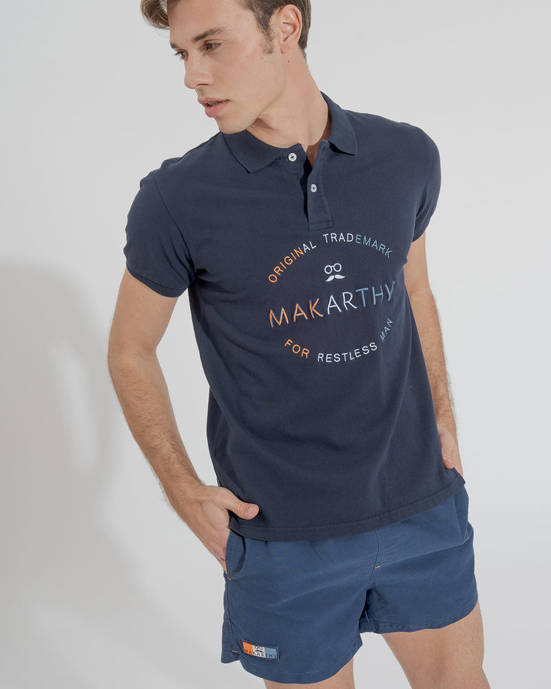 POLO EMBROIDERY MARINO