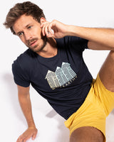 CAMISETA BEACH HOUSE MARINO
