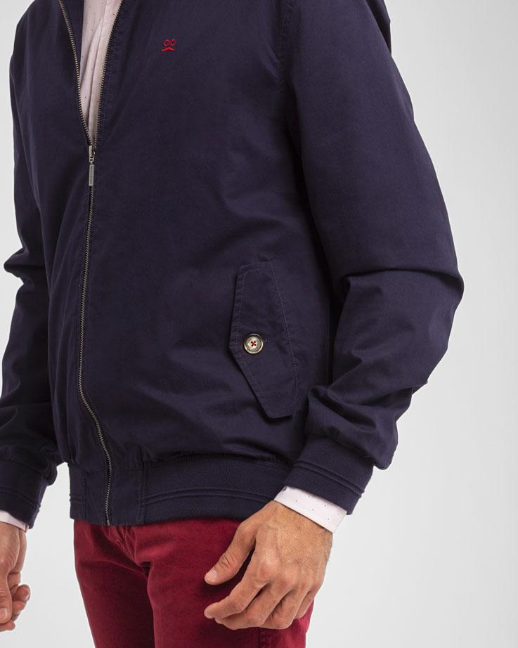 HARRINGTON JACKET MARINO