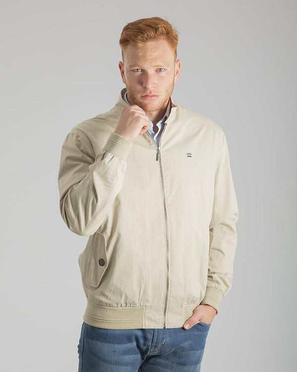 HARRINGTON JACKET PIEDRA