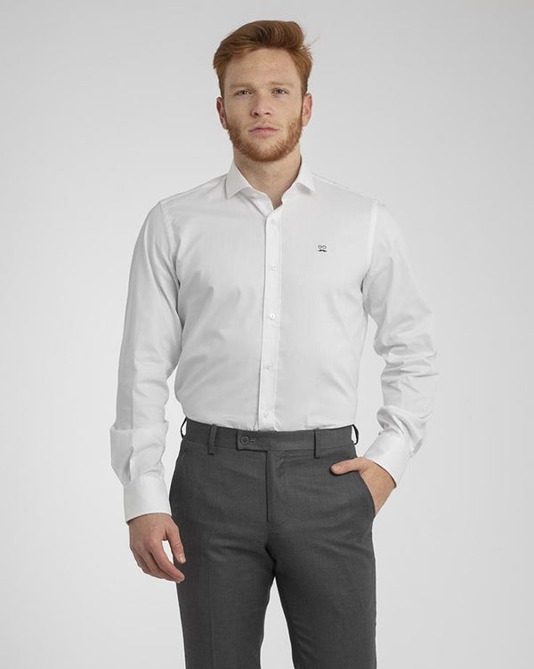 CAMISA OXFORD LIGHT BLANCO