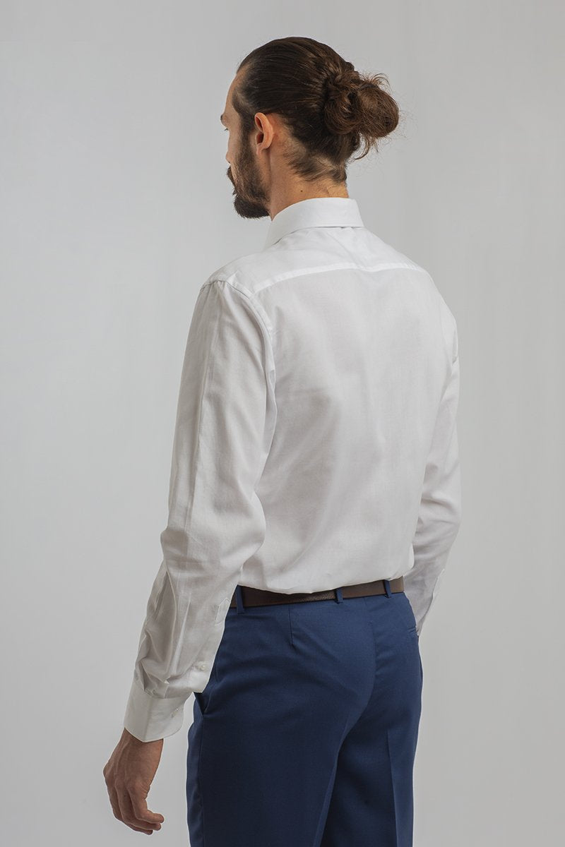CAMISA PINPOINT OXFORD BLANCO