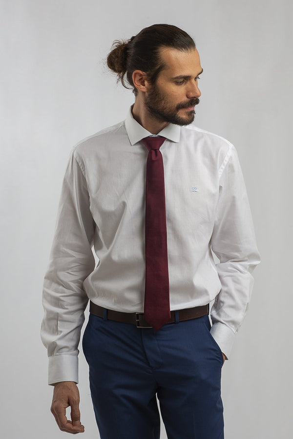CAMISA PINPOINT OXFORD BLANCA
