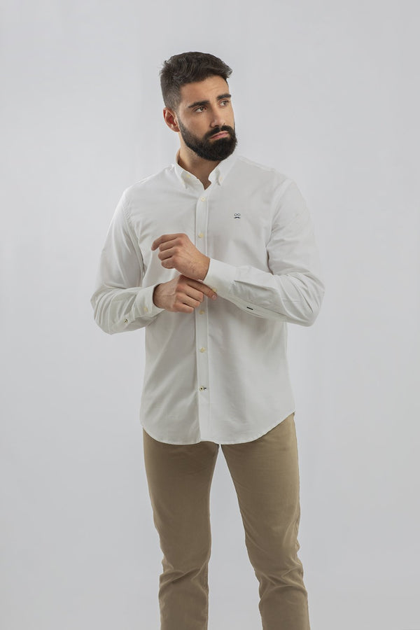 CAMISA CLASSIC OXFORD NOOS BLANCO