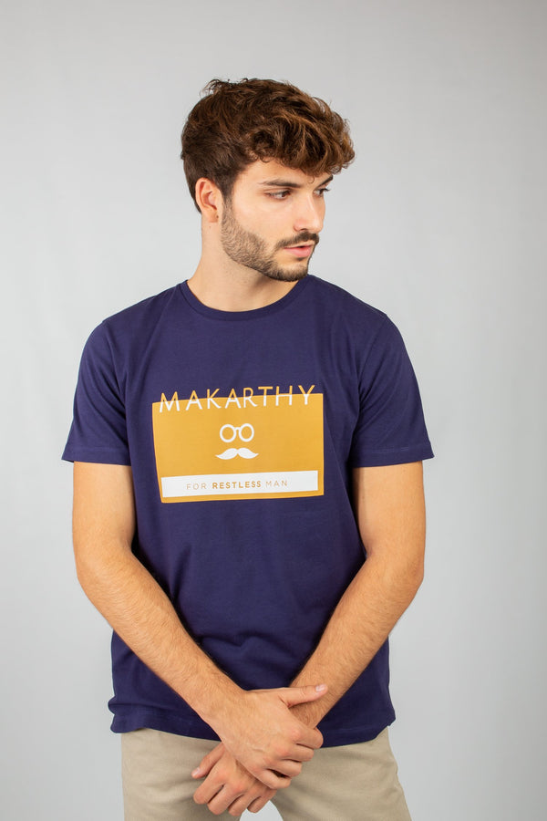 CAMISETA ICON MARINO