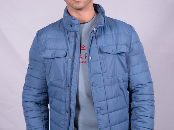 FOX JACKET AZUL