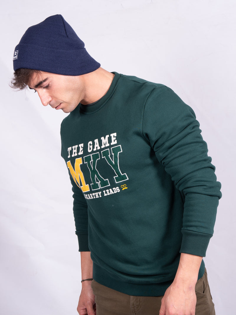 SUDADERA GAME VERDE
