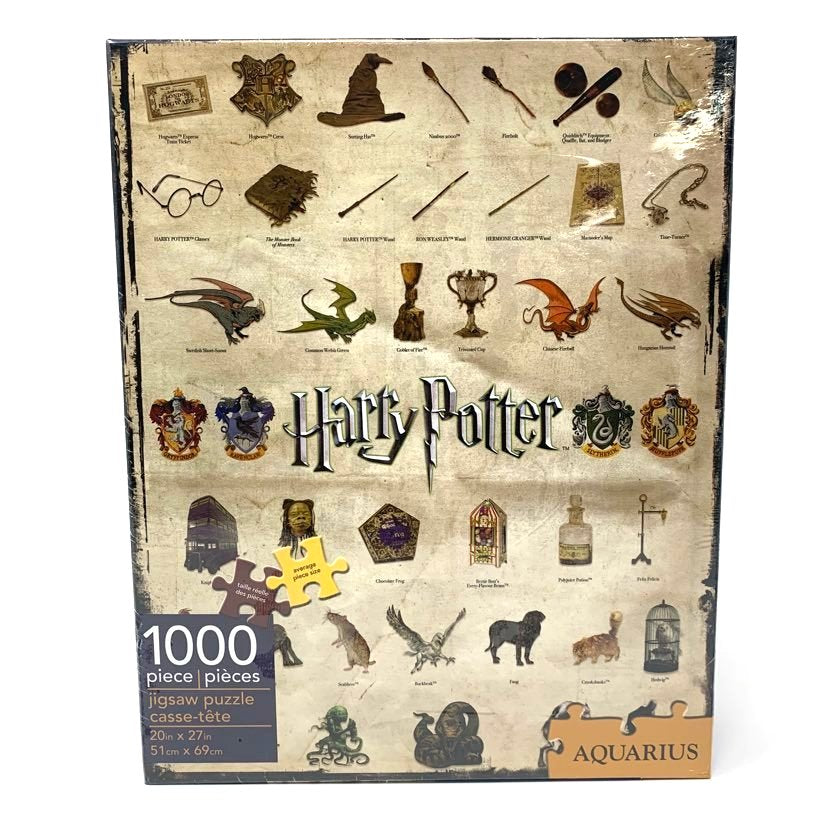 CASSE-TÊTE HARRY POTTER ICONES 1000PCS HP65270