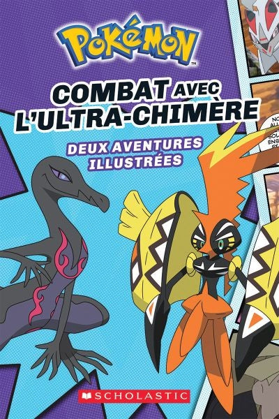 POKEMON COMBAT AVEC L'ULTRA-CHIMERE