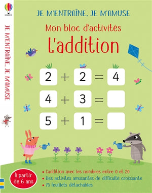 ADDITION : MON BLOC D'ACTIVITES