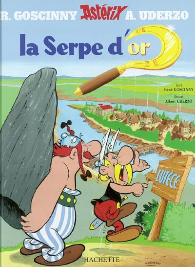 ASTERIX LA SERPE D'OR  #2