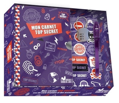MON CARNET TOP SECRET -COFFRET