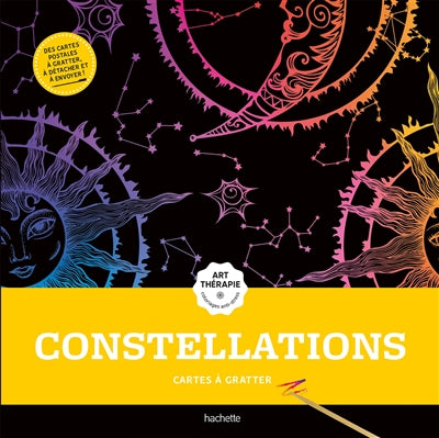 CONSTELLATION -CARTES A GRATTER