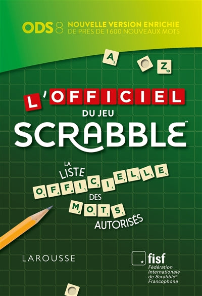 OFFICIEL DU JEU SCRABBLE