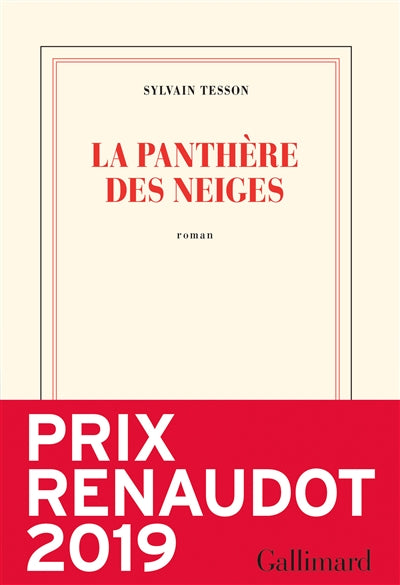 PANTHERE DES NEIGES        RENAUDOT 2019