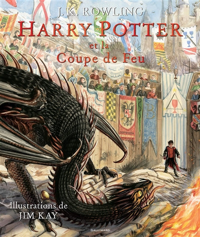 HARRY POTTER 4 COUPE DE FEU (VERSION ILLUSTRÉE)