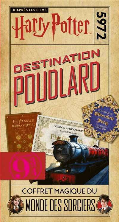 HARRY POTTER : DESTINATION POUDLARD