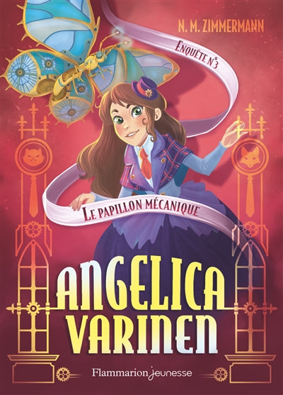 ANGELICA VARINEN T.03 : LE PAPILLON MECANIQUE