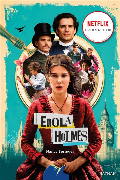 ENQUETES D'ENOLA HOLMES T.01 : LA DOUBLE DISPARITION  ED.FILM