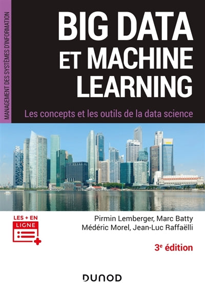 Big data et machine learning - 3e ed.