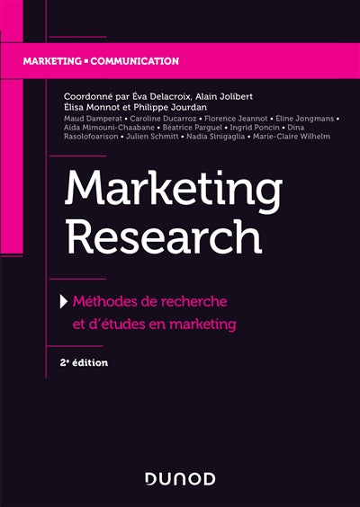 Marketing research - 2e ed.
